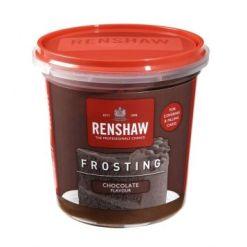 Renshaw Frosting Chokolade 400g - Klar til brug