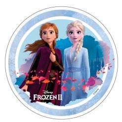 Frozen 2 Sukkerprint, 21 cm - 04