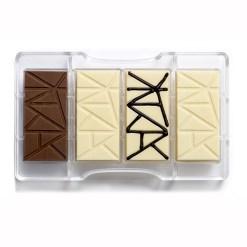 Chokoladebar – Polycarbonat Chokoladeform - Decora