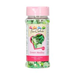 Grøn krymmel mix 50g - FunCakes