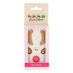 Sukkerdekoration Rudolf - FunCakes