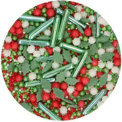 Blandet Krymmel, Holiday, 65 g - FunCakes