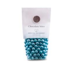 Chokolade Kugler – Lyseblå Perlemor, Special Moment