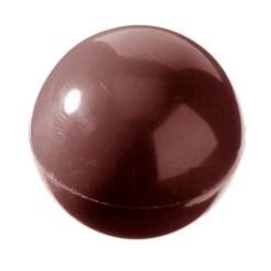 Chokoladeform Halvkugle Ø 27mm CW1258 - Chocolate World
