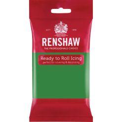 Grøn Fondant, 250 g - Renshaw