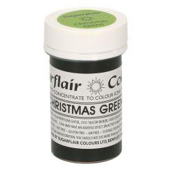 Pastafarve Julegrøn, 25 g - Sugarflair