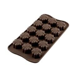 Silikone Chokoladeform Kløver - Silikomart
