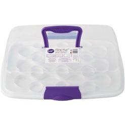 Transportabel opbevaringsboks til kager - Wilton