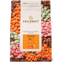 Callebaut Chokolade Orange, 2,5 kg