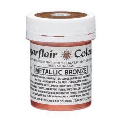 Chokoladefarve Bronze 35g - Sugarflair