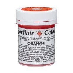 Chokoladefarve Orange 35g - Sugarflair