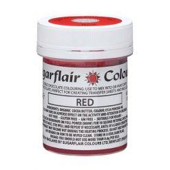 Chokoladefarve Rød 35g - Sugarflair