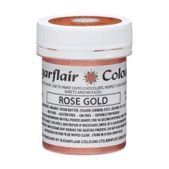 Chokoladefarve Rose Guld 35g - Sugarflair