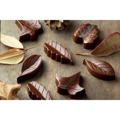 Silikone Chokoladeform Natur - Silikomart