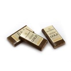 Minibar Callebaut chokolade, Gold - 13,5g