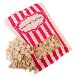 Hvide Hjerter Krymmel 40 g. - SweetKitchen