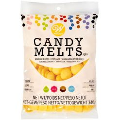 Candy Melts Gul 340 g. - Wilton