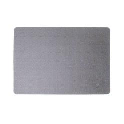 Dækkeserviet læder print – Grå