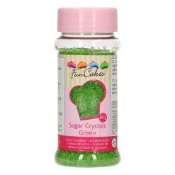 Farvet Sukker Grøn 80g - FunCakes