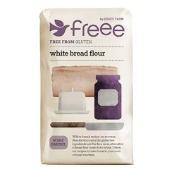 Glutenfri Brødblanding Hvid 1kg - Doves Farrm