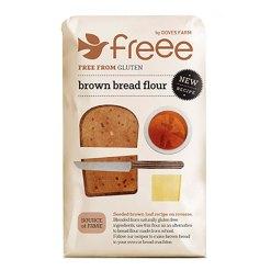 Glutenfri Brødblanding Mørk 1kg - Doves Farrm