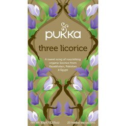 Pukka Te Three Licorice Økologisk - 20 breve