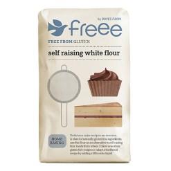 Selvhævende mel Glutenfri 1kg - Doves Farm