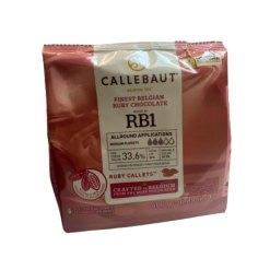 Callebaut Chokolade Ruby - 400g
