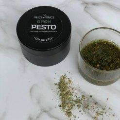 Grøn tørpesto, Ramsløg, hvidløg og rosmarin - Spice by Spice