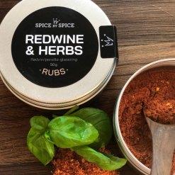 Redwine & Herbs Krydderi, Rub - Spice by Spice