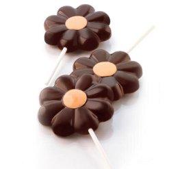 Slikkepind form Daisy Pop, silikone - Silikomart