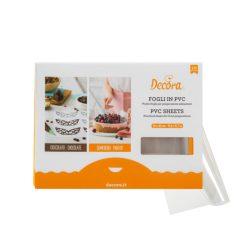 Konditorplast / chokoladefolie 30 x 40cm, 10 Ark - Decora
