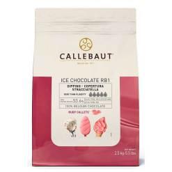 Ruby Chokolade til Is overtræk 2,5 kg - Callebaut