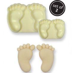 Baby fødder udstiksforme 2 stk. - JEM Pop It®