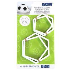 Fodbold udstikkersæt 4 dele - PME