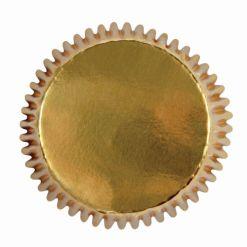 Guld Mini muffinsforme 45 stk., PME