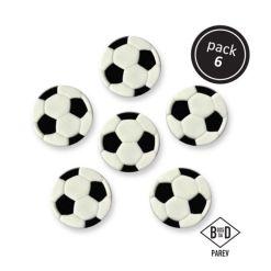 Spiselig sukkerpynt fodbolde - PME