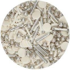 Krymmel sølv mix 65g - FunCakes