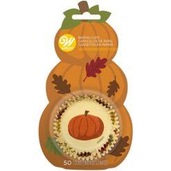 Halloween muffinsforme 50 stk. Græskar - Wilton