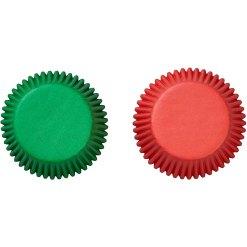 Muffinsforme Rød & Grøn 75 stk. - Wilton