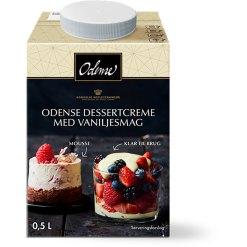 Odense Dessertcreme Med Vaniljesmag - 500 ml