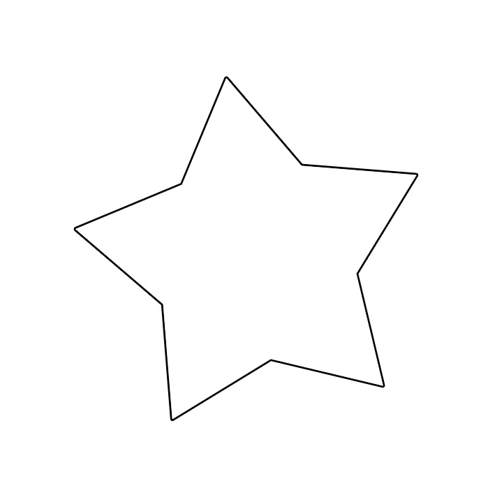 large printable star coloring pages - photo #25