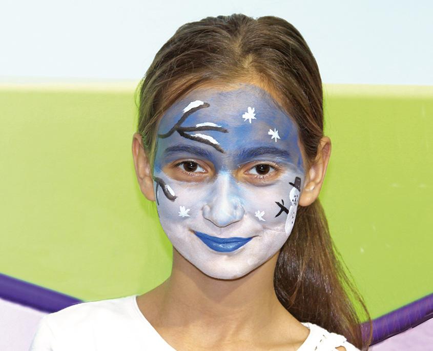 Yüz Boyama Minik Aslan Projedenizi