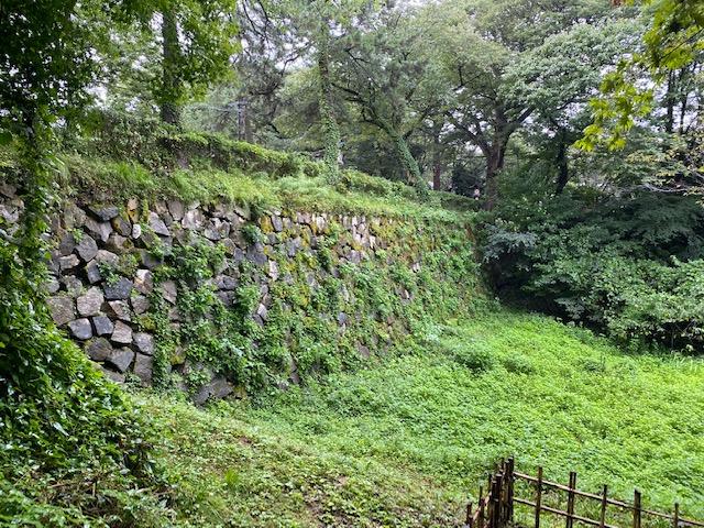 高岡城石垣