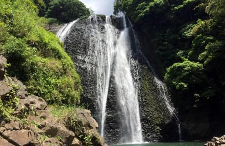 龍門滝(龍門の滝)マイナスイオンを浴びに