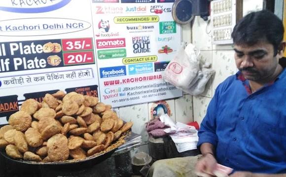 J.B Kachori wala (Jung Bahadur Kachori wala), Chandni Chowk