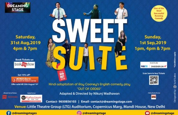 SWEET SUITE – 2 hours of rib tickling comedy!