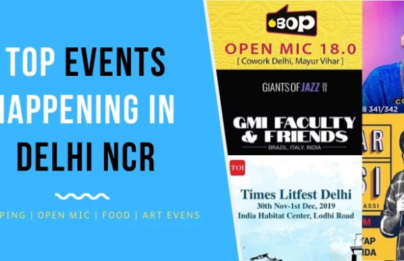 Top Events Happening in Delhi NCR this Weekend from 29 Nov to 1 Dec
