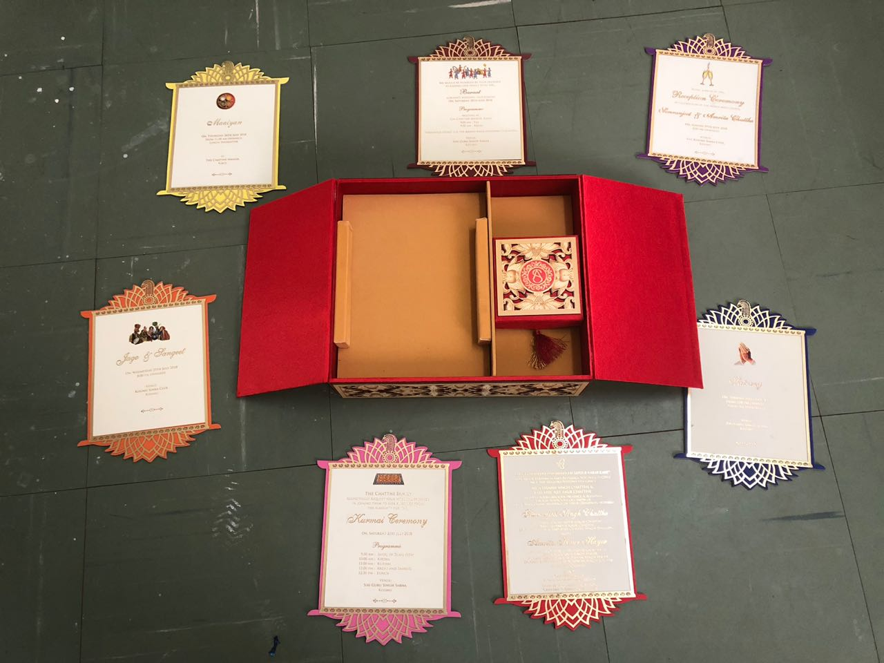 Wedding Invite Card of Kids of Kisumu Sugar Barons Cost Ksh35,000 ...