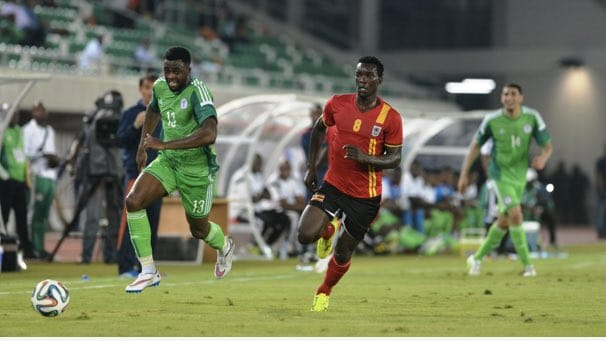 uganda cranes super eagles friendly